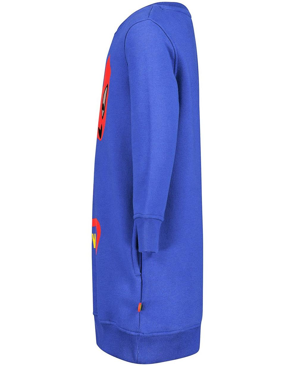 Robes - navy - Robe molletonnée